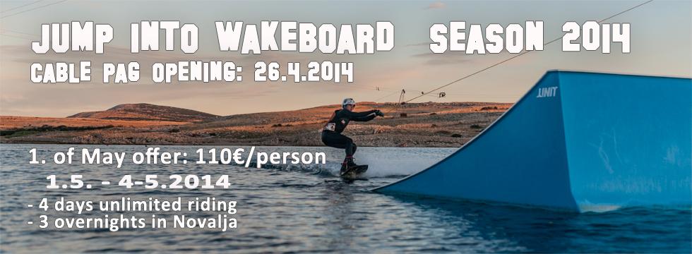 Wakeboard Jump into season 2014