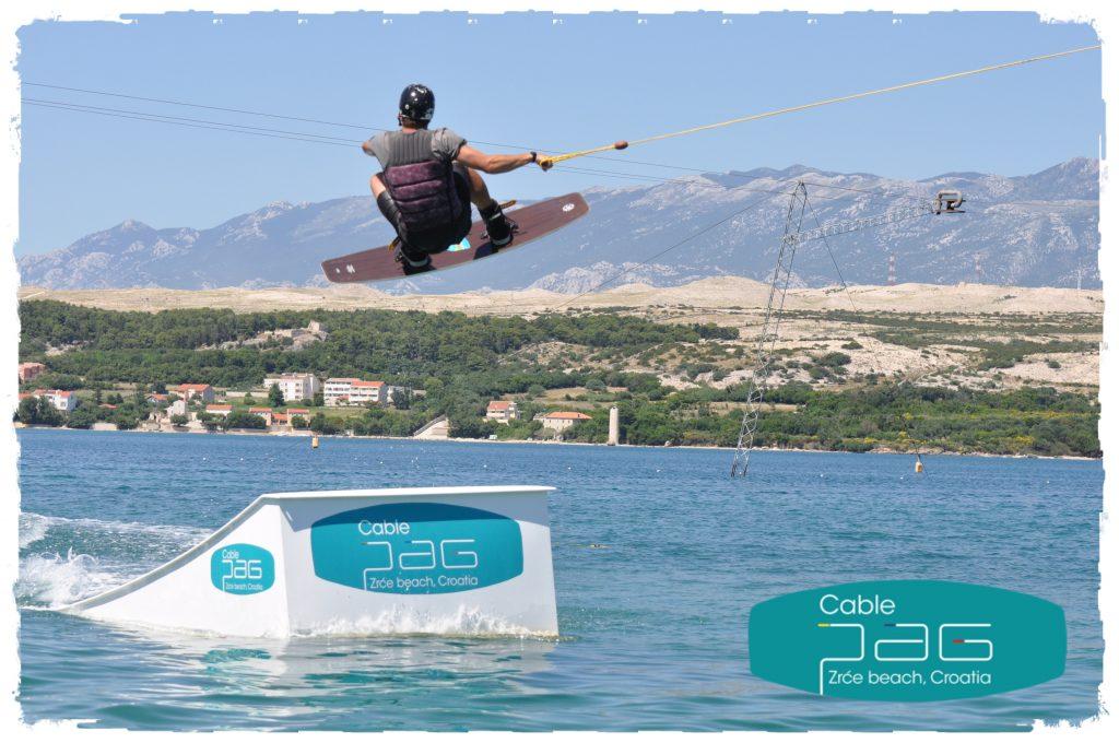 Wakeboard zrce beach croatia
